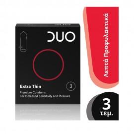 Duo Extra Thin 3τμχ