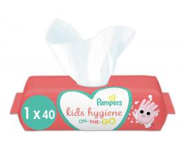 Pampers Kids Hygiene On-The-Go Μωρομάντηλα 40τμχ