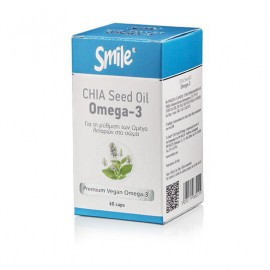 AM HEALTH Smile Chia Seed Oil Omega-3 60caps