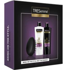 TRESemme Set Προστασία & Αναδόμηση των Ταλαιπωρημένων Μαλλιών Biotin + Repair 7 Shampoo 400ml & Biotin + Repair 7 Conditioner 400ml & Detangler Brush Βούρτσα Μαλλιών