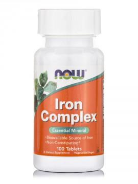 Now Foods Iron Complex Vegetarian 100tabs