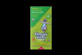 Chewy Vites Kids Omega 3 + Multivitamin 60τμχ
