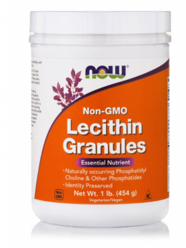 Now Foods Lecithin Granules (Non GMO) Vegetarian 1lb 454gr