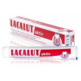LACALUT Aktiv Οδοντόκρεμα για Σύσφιξη & Ενίσχυση Ούλων 50ml