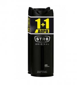 STR8 Deo Spray Original 150ml 1+1 Δώρο