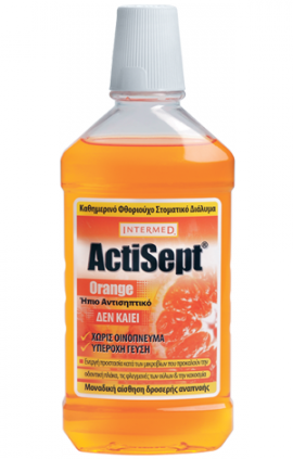 INTERMED Actisept Mouthwash Orange 500ml