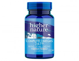 Higher Nature Complete Omegas 3:6:7:9 90caps