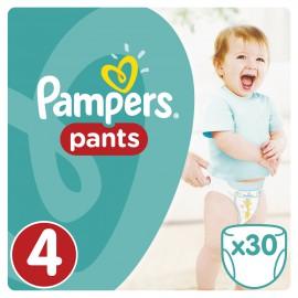 Pampers Pants No 4 (9-15 Kg) 30 Πάνες Βρακάκι