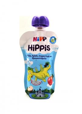 Hipp Hippis Δράκος Μήλο,Αχλάδι,Dragon Fruit και Φραγκοστάφυλο 100gr