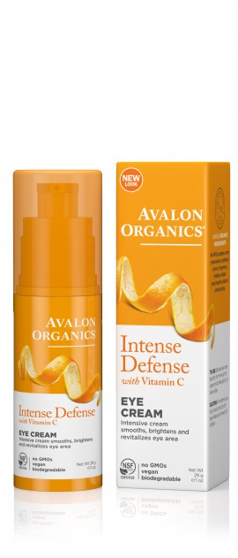 Avalon Organics Eye Cream Intense Defence with Vitamin C 29g