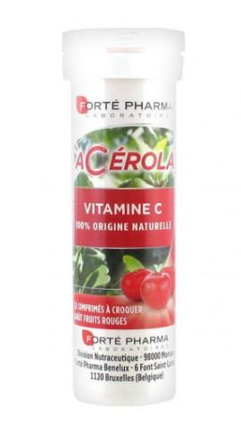 Forte Pharma Acerola Vitamin C, 12 Μασώμενα Δισκία