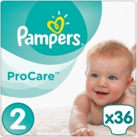 Pampers Procare Premium Protection No.2 (3-6kg) 36 Πάνες