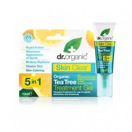 DR.ORGANIC Skin Clear Organic Tea Tree Treatment Gel 10ml