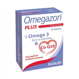 HEALTH AID OMEGAZON PLUS OMEGA 3+CoQ10 60caps