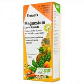 Power Health Floradix Magnesium Liquid Mineral Supplement 250ml