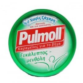 PULMOLL Καραμέλες με Ευκάλυπτο & Μενθόλη 45gr