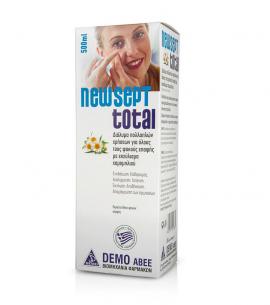 Demo NewSept Total Διάλυμα Πολλαπλών Χρήσεων για Φακούς Επαφής με Εκχύλισμα Χαμομηλιού 500ml