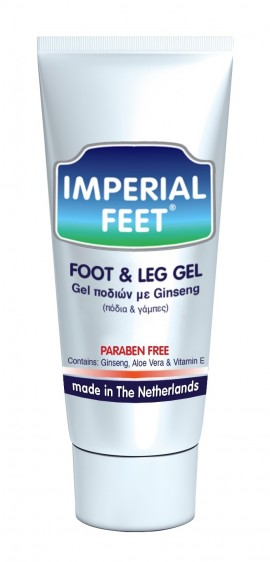 Imperial Feet Gel Ginseng & Aloe Vera Τζελ Ποδιών 150ml
