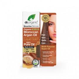 DR.ORGANIC MOROCCAN ARGAN OIL LIQUID GOLD 100% PURE OIL 50ML