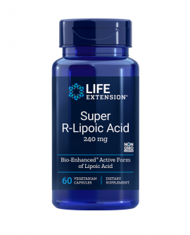 Life Extension Super R-Lipoic Acid 60 Veg. Caps