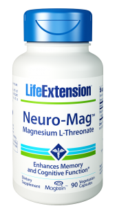 Life Extension Neuro-Mag Magnesium L-Threonate 90caps