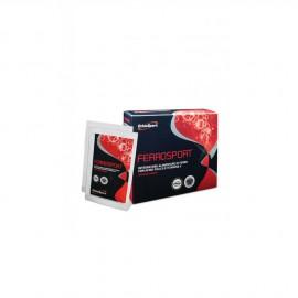 EthicSport Ferrosport Συμπλήρωμα Διατροφής με Σίδηρο, Φολικό Οξύ, Βιταμίνες C και Ε, 20 x 3gr Φακελάκια