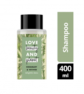 Love Beauty And Planet Shampoo Rosemary & Vetiver 400ml
