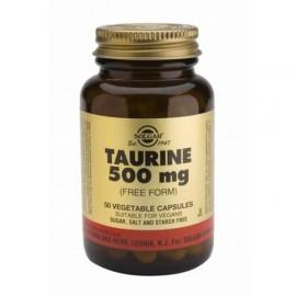 SOLGAR TAURINE 500MG 50VCAP