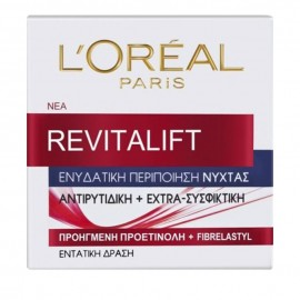 LOreal Paris Revitalift Night Cream Ενυδατική Κρέμα Νύχτας 50ml