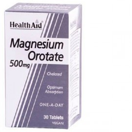 Health Aid Magnesium Orotate 500mg tablets 30s