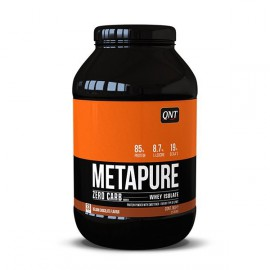 QNT Metapure Zero Carb Whey Isolate Protein Powder Belgian Chocolate 908kg