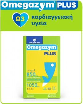 Holistic Med Omegazym Plus 850mg Omega 3 30softgels