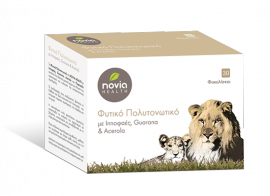 Novia Health Φυτικό Πολυτονωτικό με Ιπποφαές Guarana & Acerola 30φακελίσκοι