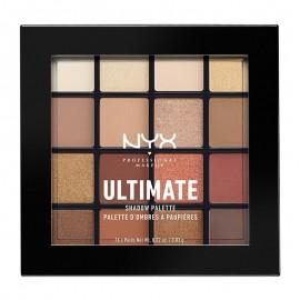 NYX PM Ultimate Shadow Παλέτα Σκιών 3 Warm Neutrals 171gr