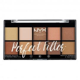 NYX PM Perfect Filter Παλετα Σκιων 1 Golden Hour 154gr
