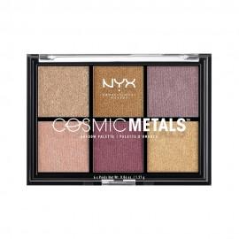 NYX PM Cosmic Metals Παλετα Σκιων 1 Multi gr