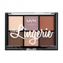 NYX PM Lid Lingerie Παλέτα Σκιών 1 Multi 122gr