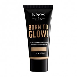 NYX PM Born To Glow! Naturally Radiant Foundation  Nude 30ml