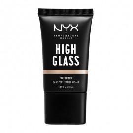 NYX PM High Glass Primer Προσωπου 1 Moonbeam 30ml