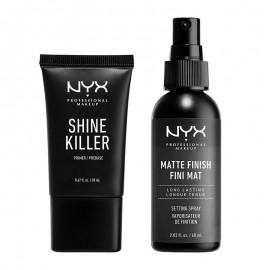 NYX PM Diamonds & Ice, Please Σετ Primer & Setting Spray