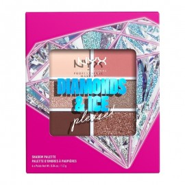 NYX PM Diamonds & Ice, Please 6-Pan Παλέτα Σκιών 2 Diamond Delirious