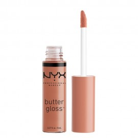 NYX PM Butter Gloss Lip Gloss 14 Madeleine 8ml