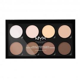 NYX PM Highlight & Contour Pro Παλετα Μακιγιαζ 1  329ml