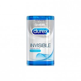 Durex Invisible Extra Thin 6 Προφυλακτικά