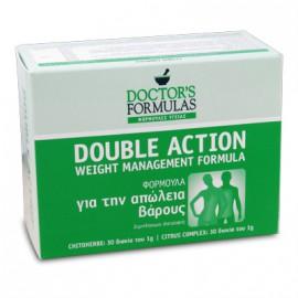 Doctors Formulas Double Slim - Διπλή Φόρμουλα Αδυνατίσματος 60 δισκία