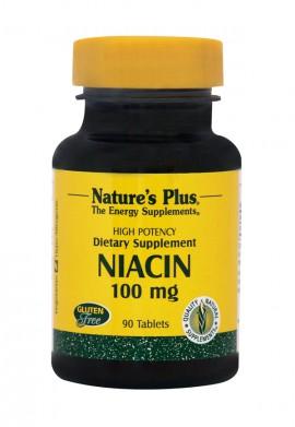 NATURES PLUS Niacin (Nicotinic Acid, B3) 100 mg 90tabs