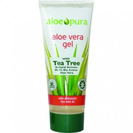 OPTIMA ORGANIC ALOE VERA GEL WITH TEA TREE 200ML