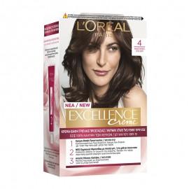 LOreal Excellence Creme 4 Καστανό 48ml