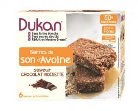 Dukan Μπάρες βρώμης με σοκολάτα και φουντούκι 150gr