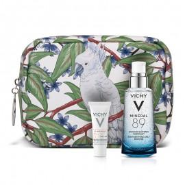 Vichy Set Mineral 89 για Κάθε Τύπο Επιδερμίδας 50ml + Δώρο Capital Soleil UV-Age Daily 3ml + Πρακτικο Νεσεσέρ by Marina Raphael 1τμχ